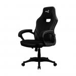 Игровое компьютерное кресло, Aerocool, AERO 2 Alpha B, Искусственная кожа PU AIR/ Дышащая ткань, (Ш)47(Г)50(В)111 (119) см,Чёрный